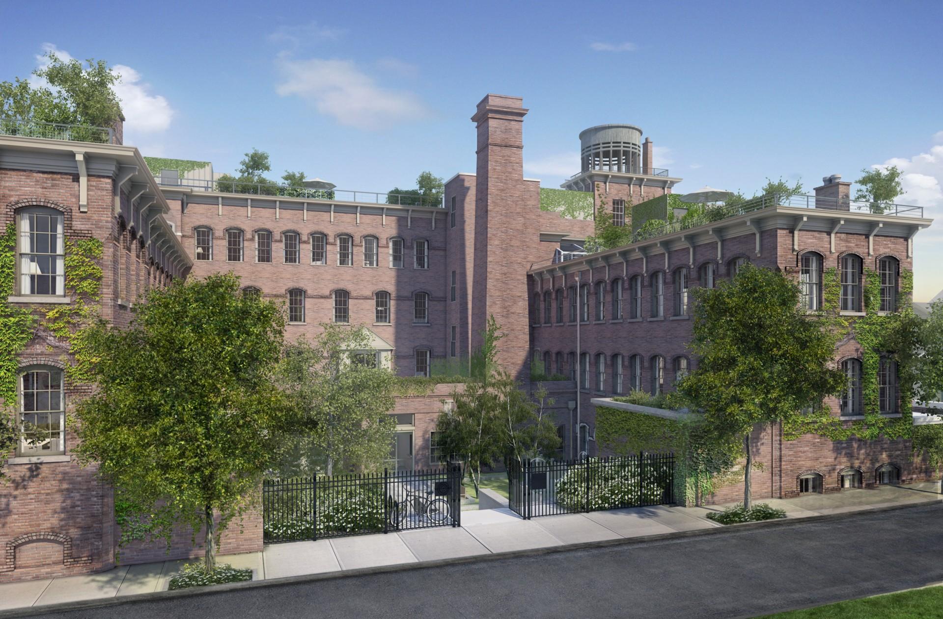 Watchcase Factory landscape architecture