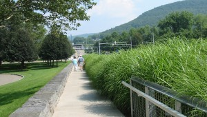 Corning Museum of Glass landscape architecture