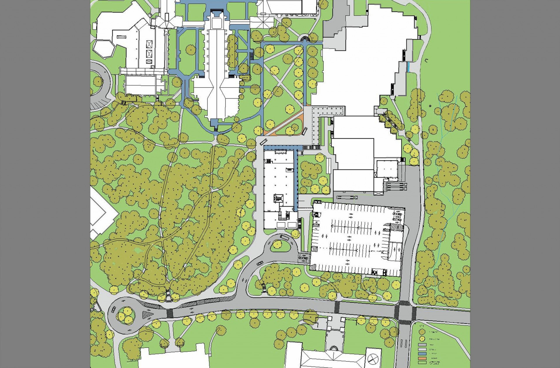 Duke University landscape architecture