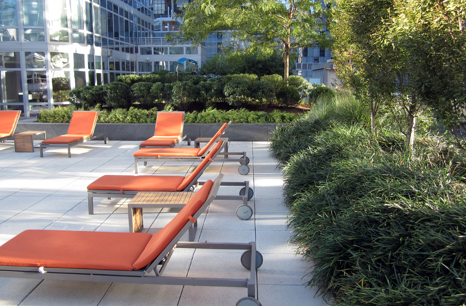 Element Condominium landscape architecture