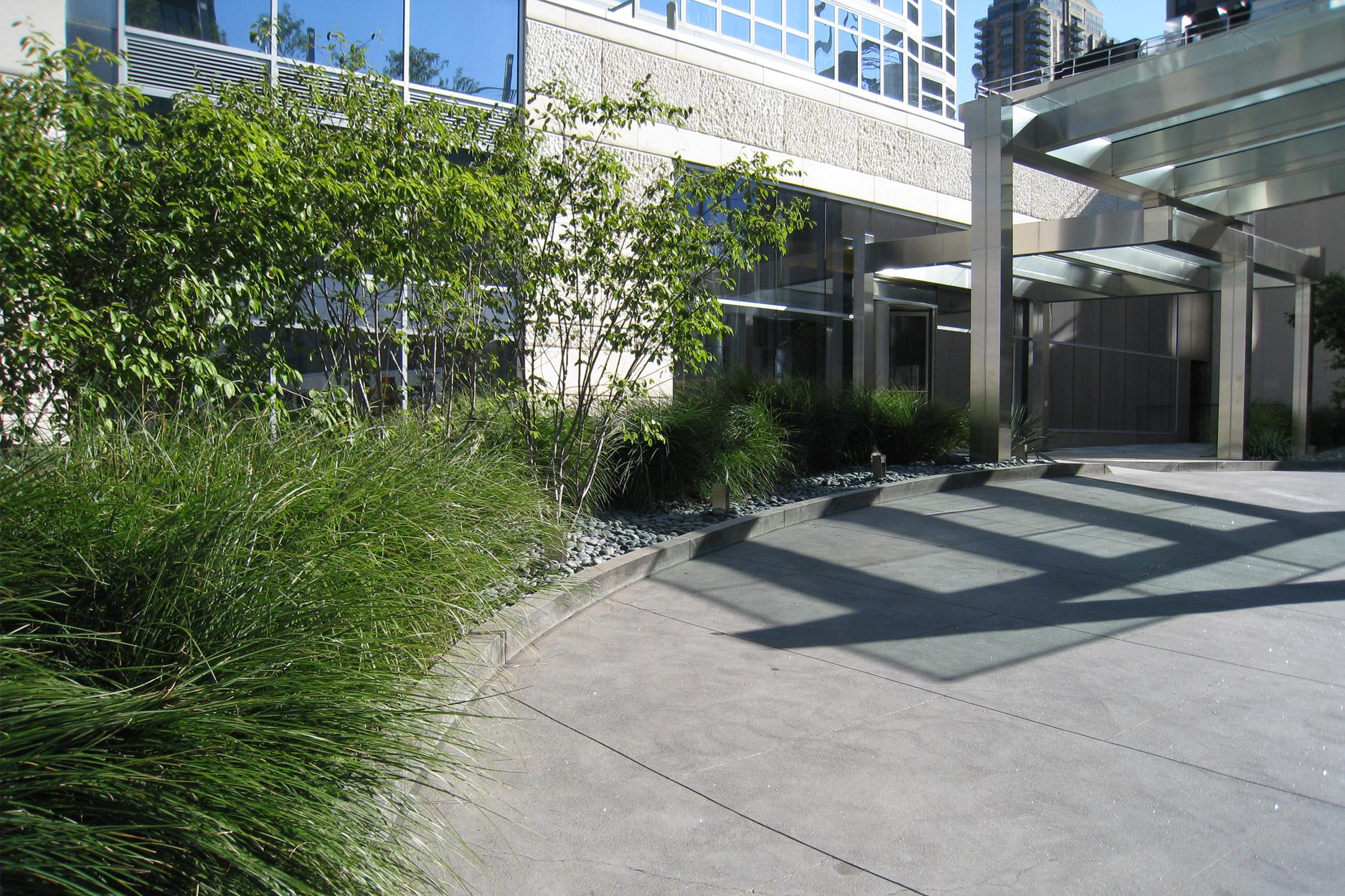 Element Condominium landscape architecture