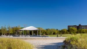 Far Rockaway Park landscape architecture