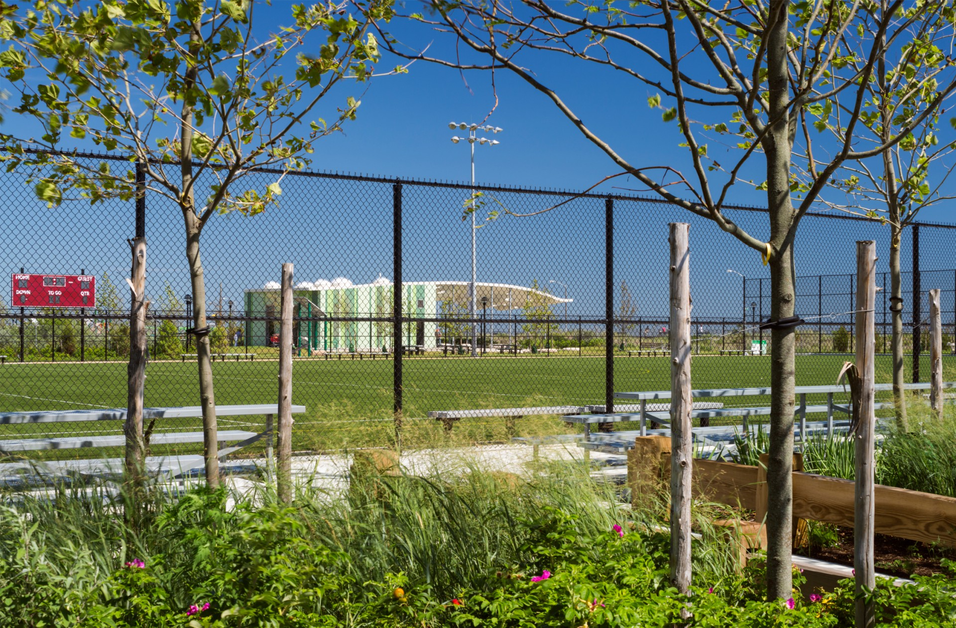 Far Rockaway Park landscape architecture