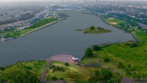 Flushing Meadows landscape architecture