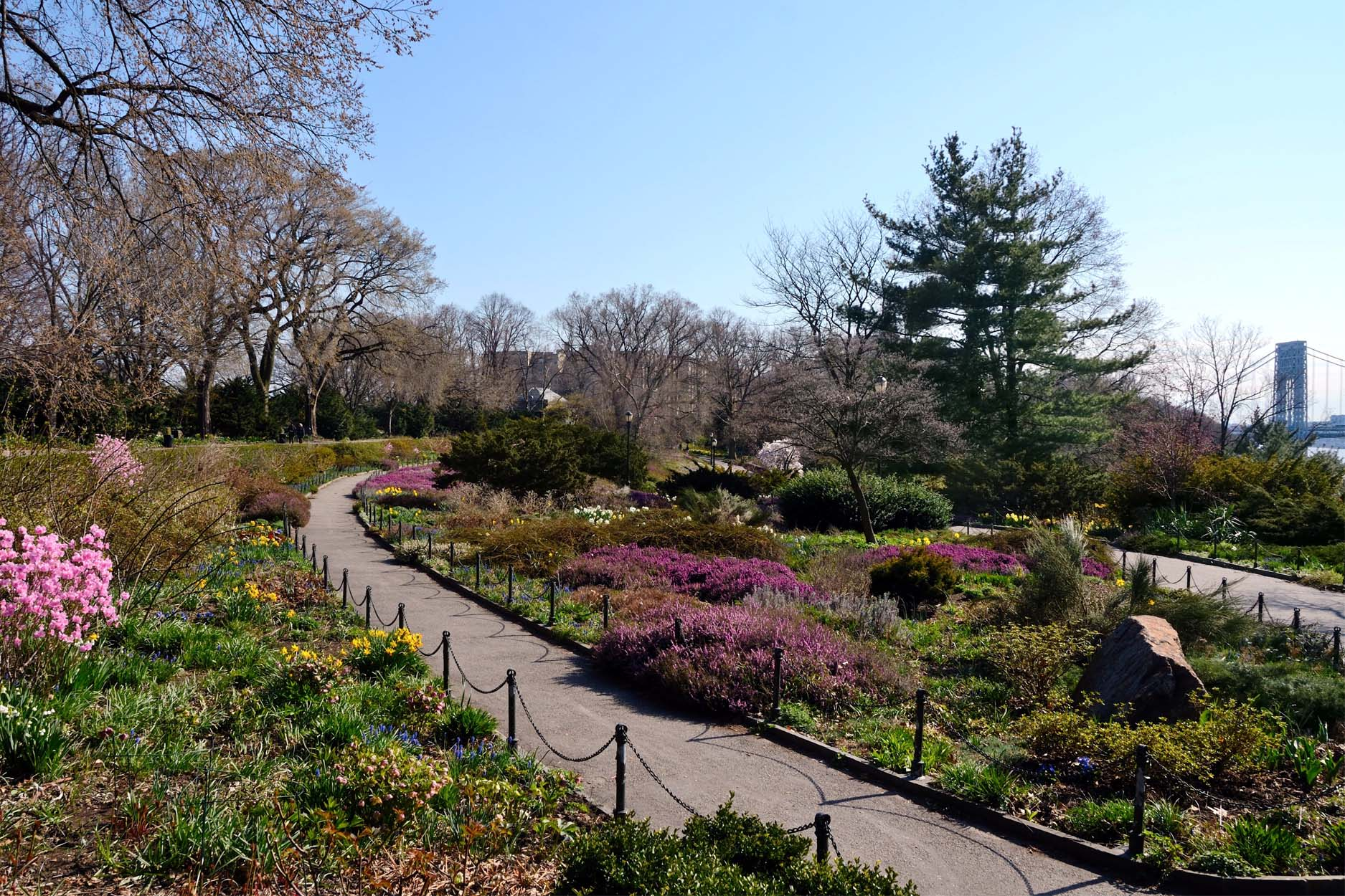 Fort Tryon landscape architecture