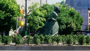 Harriet Tubman Plaza landscape architecture