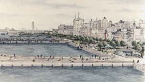 Hudson River Park landscape architecture
