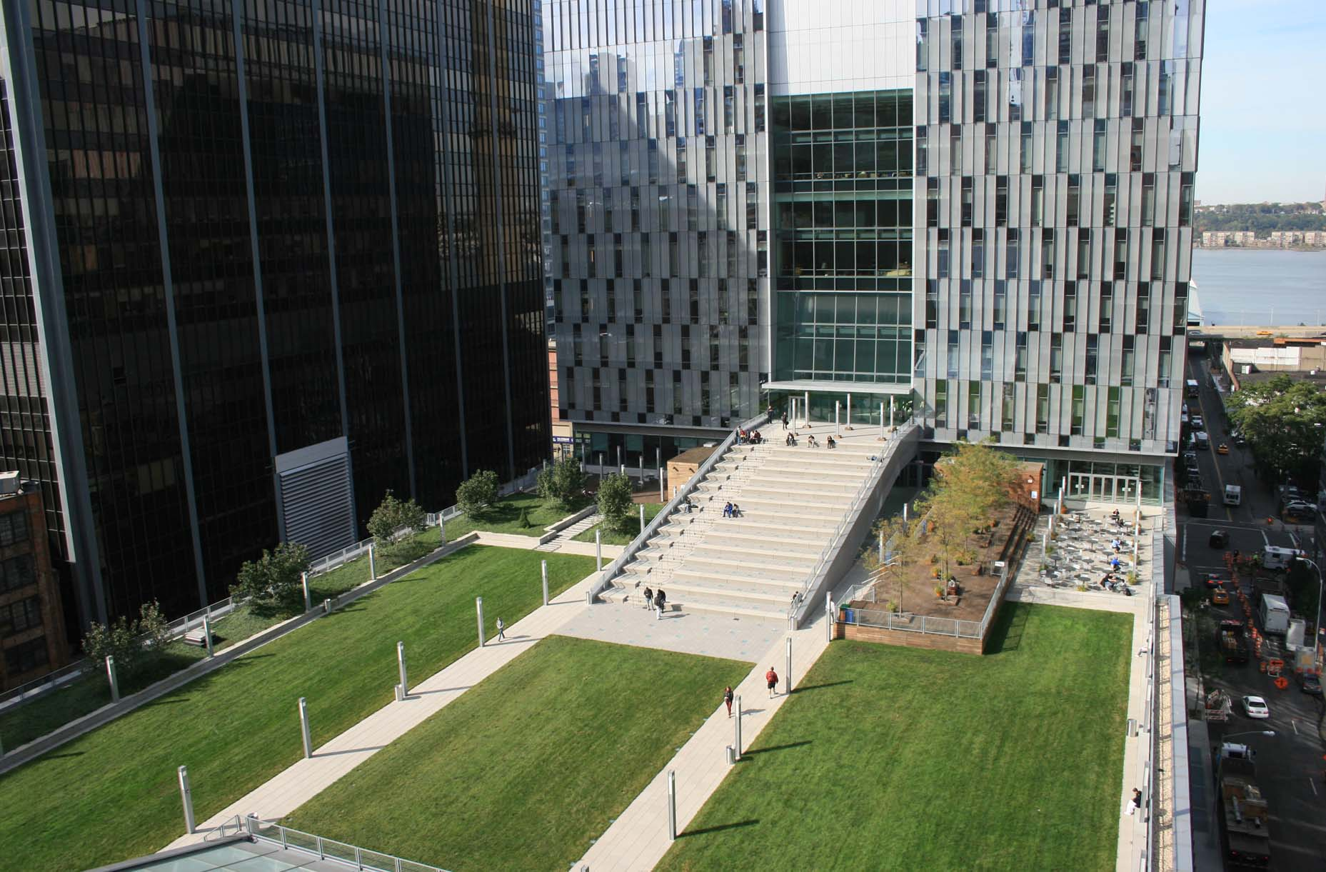 John Jay College green roof