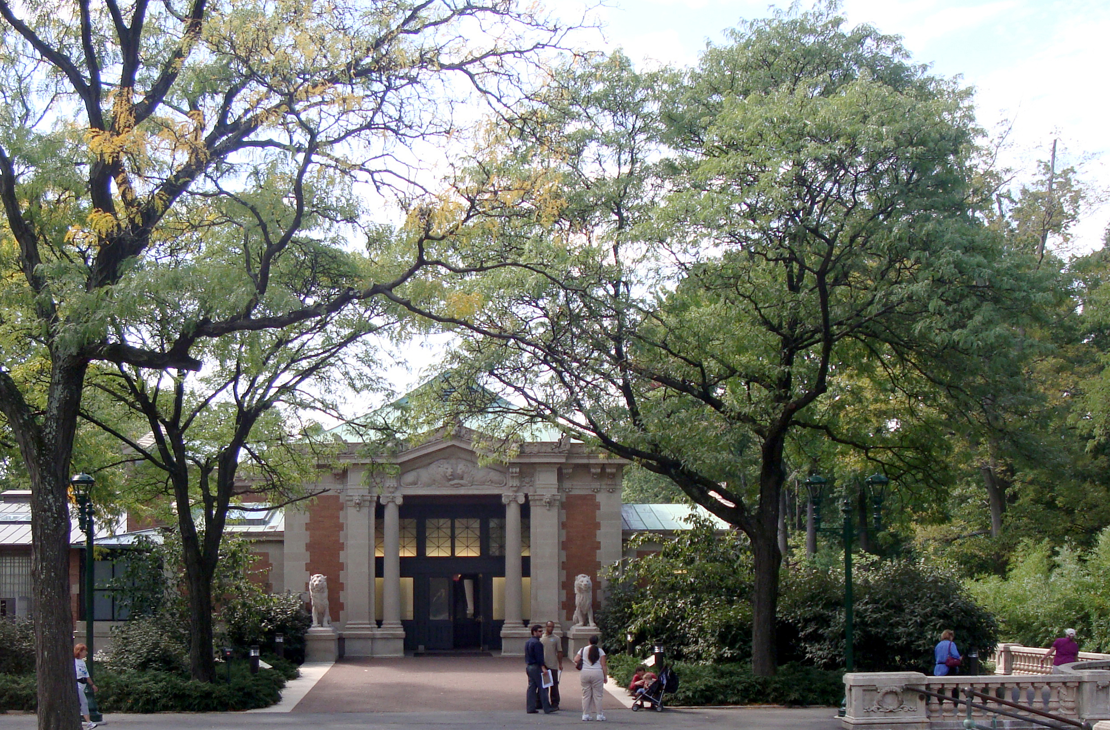 Bronx Zoo landscape architecture