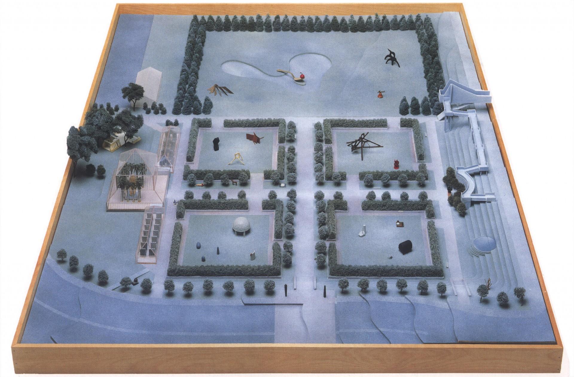 Minneapolis Sculpture Garden landscape architecture