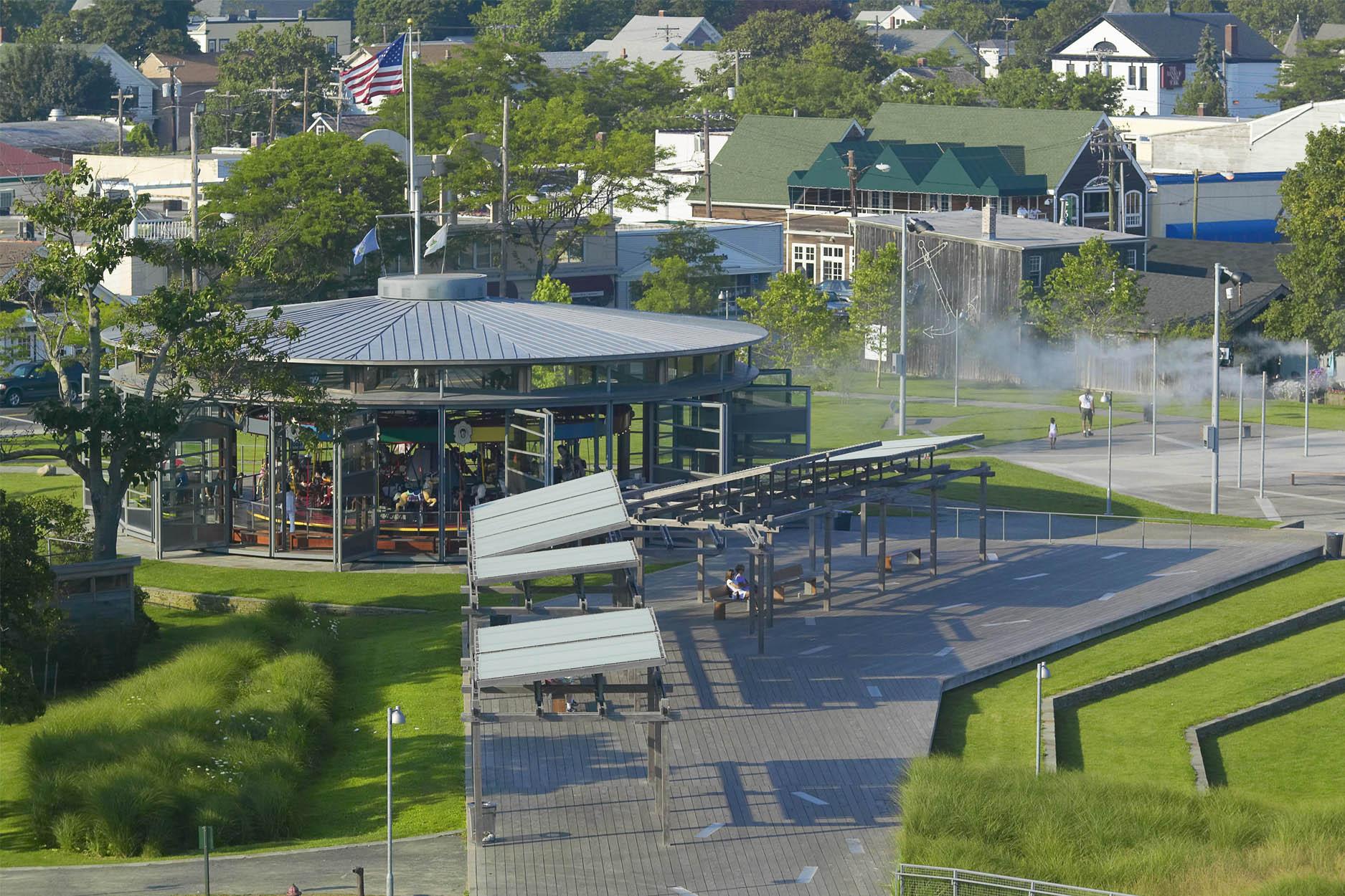 Mitchell Park landscape architecture