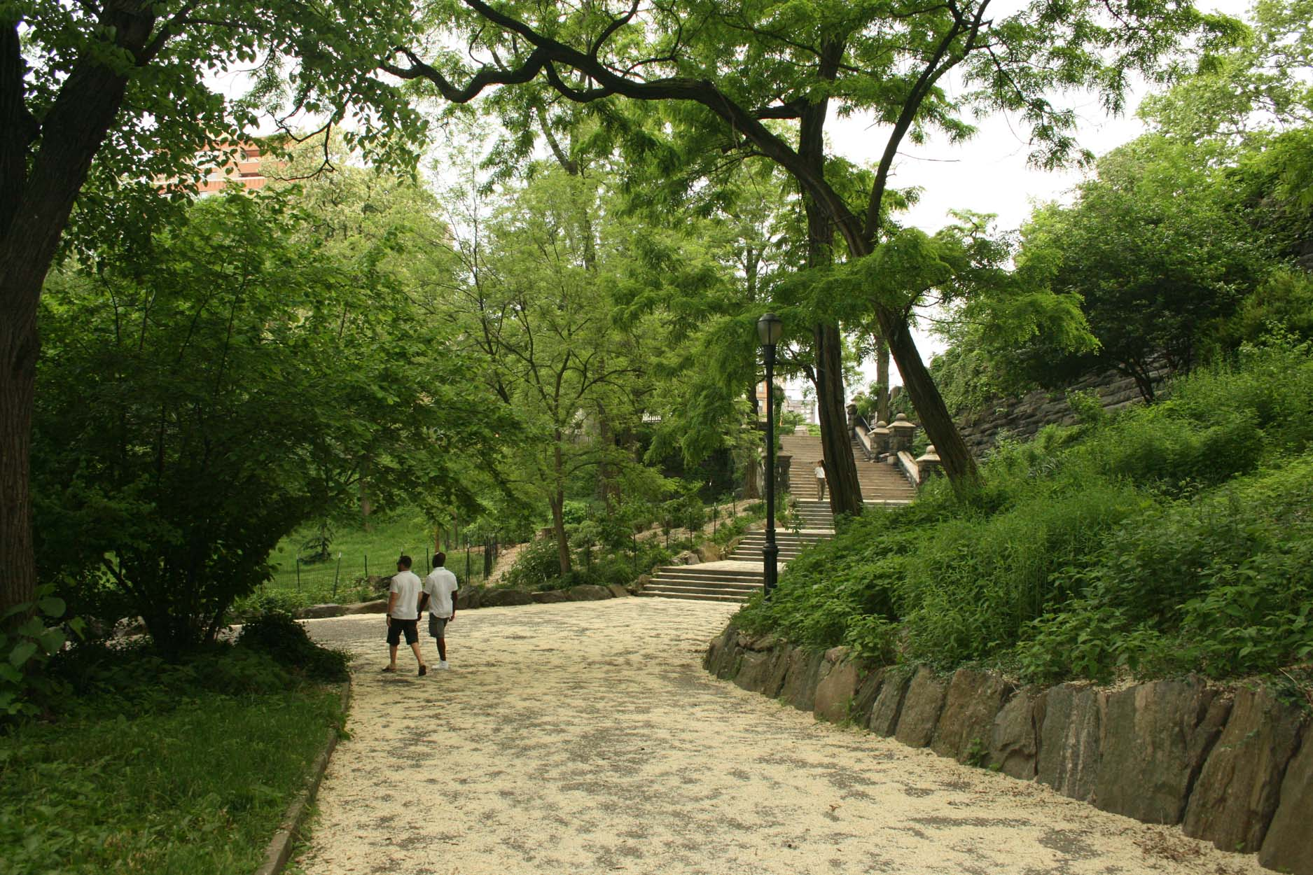 Morningside Park landscape architecture