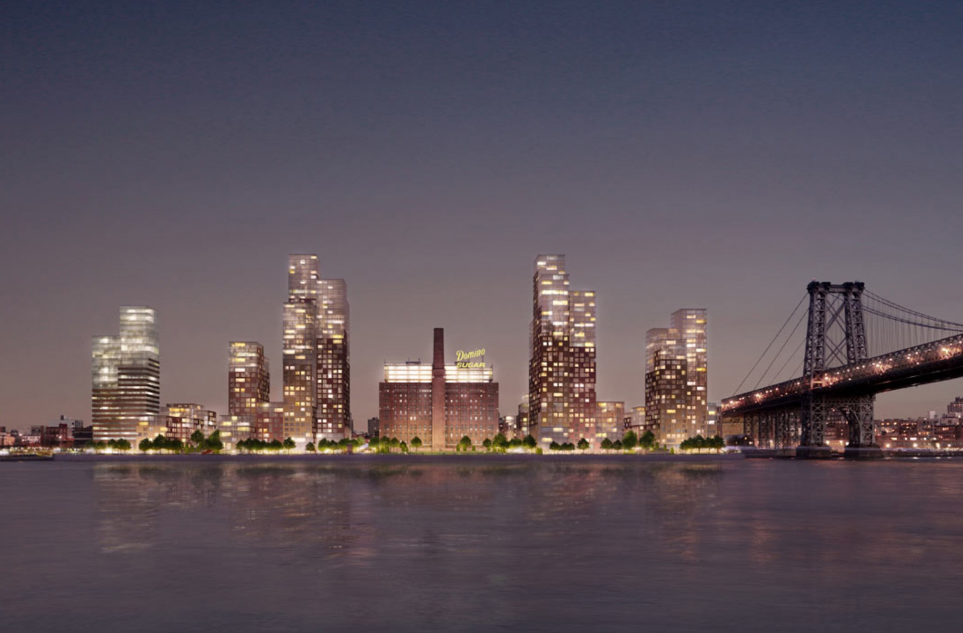 Domino Sugar Refinery landscape architecture