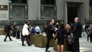 New York Stock Exchange landscape architecture