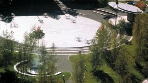 Rosa Parks Circle landscape architecture