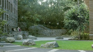 Sarah Lawrence College landscape architecture