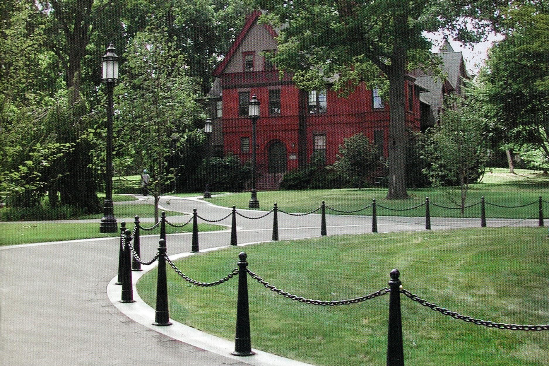 Trinity College landscape architecture