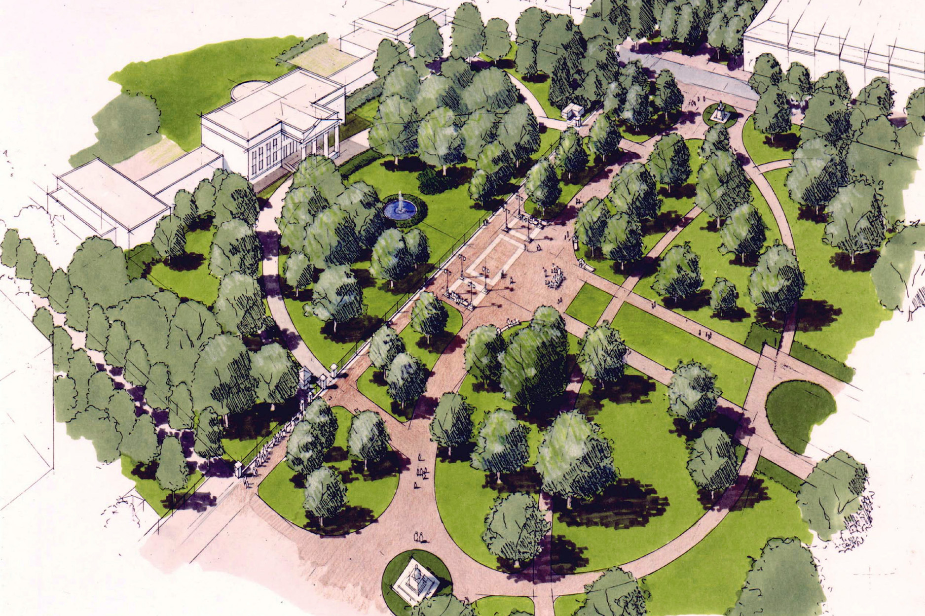 white House urban design landscape architecture