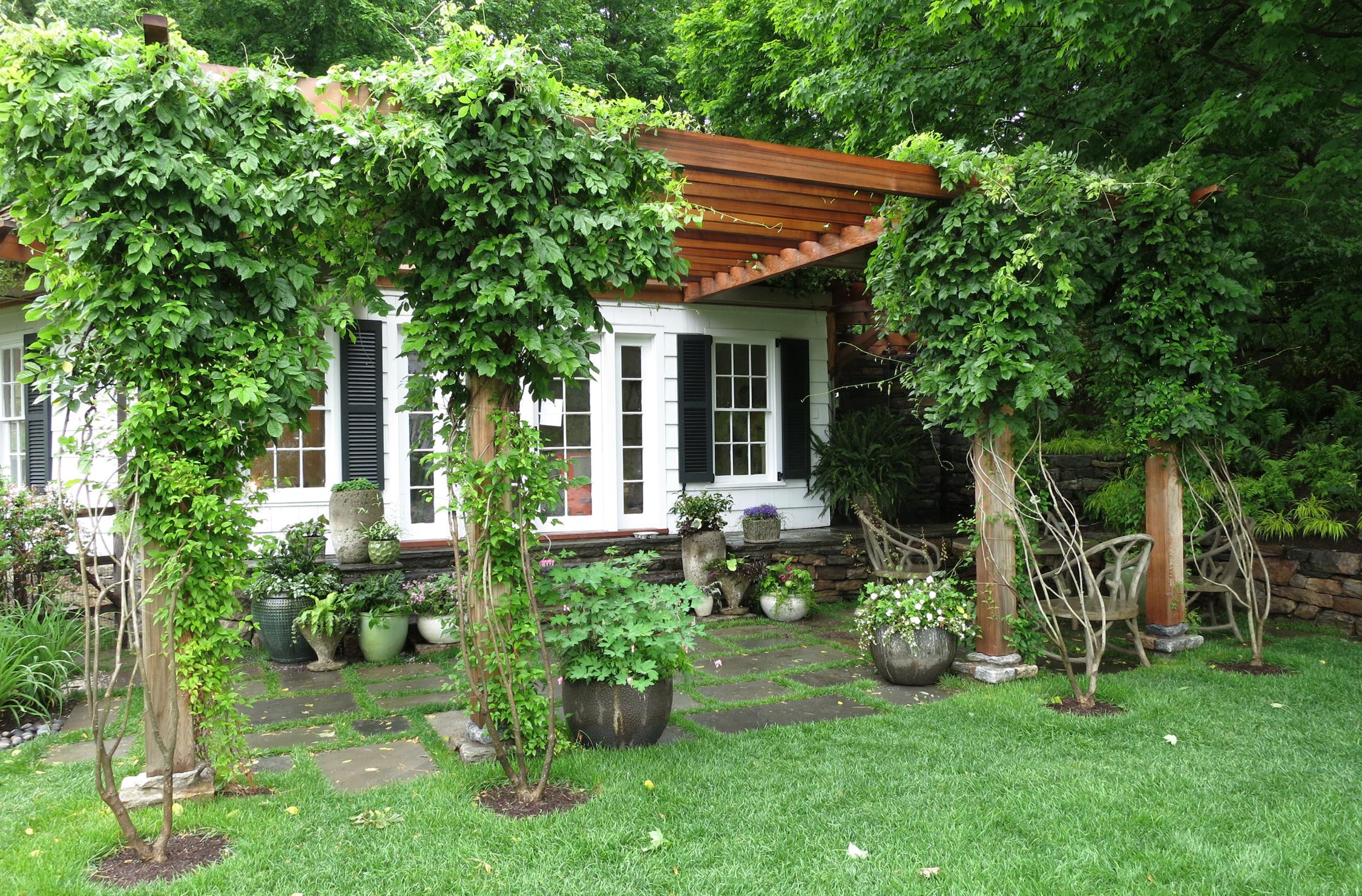 Yorktown residence landscape architecture