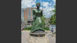 Harriet Tubman Plaza landscape architecture