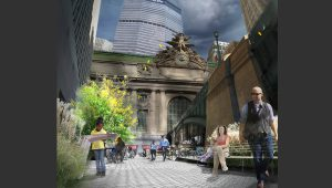 Pershing Square landscape architecture
