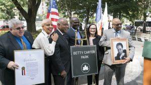 Betty Carter Park: Ribbon Cutting Ceremony September 2019