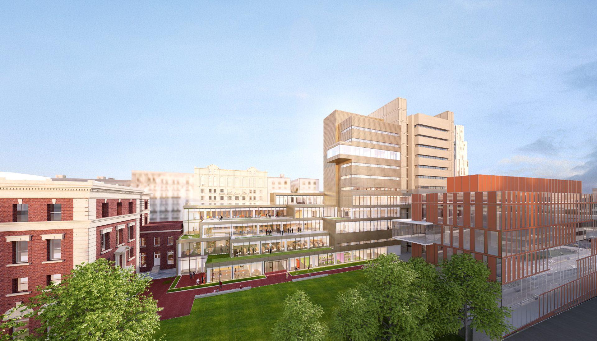 Barnard College Milstein Center