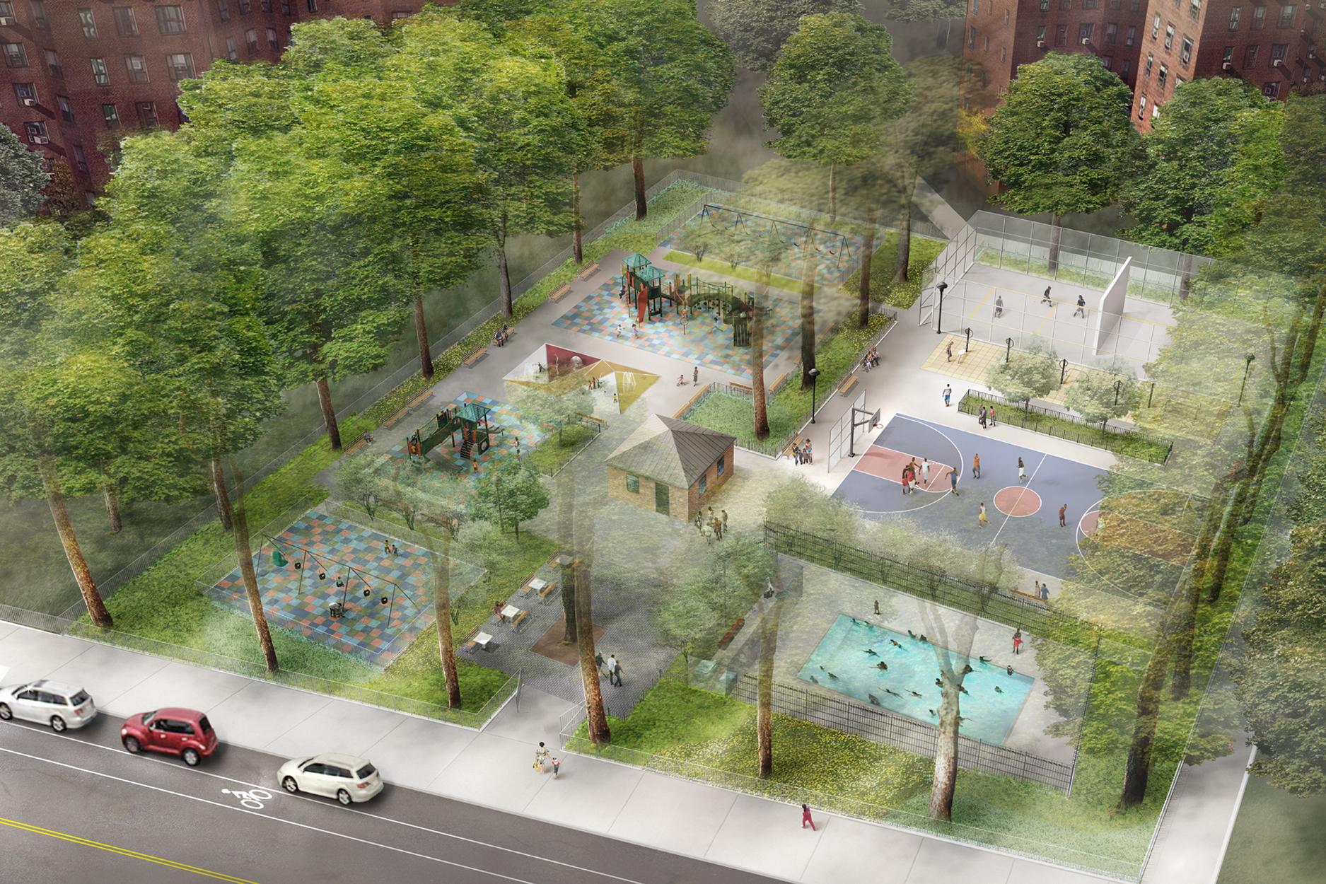 Playground 174, Bronx