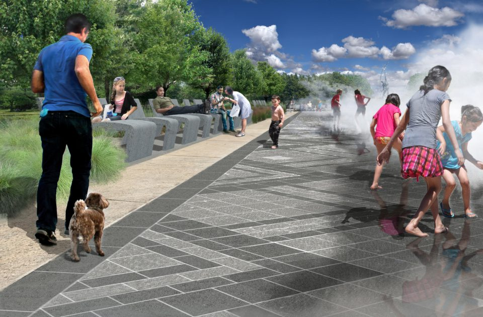 Fountain of Fairs rendering