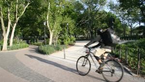 bike path The Battery