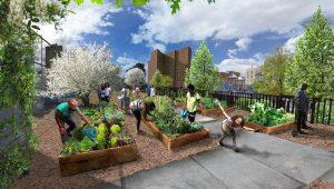 community parks initiative New York landscape architecture